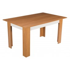 Masa de bucatarie Alpino Turna, 760 x 1450 x 900 mm, Maro (scaunele nu sunt incluse in pret)