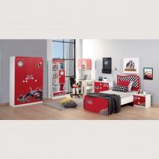 Set dormitor tineret Nitro Alpino 6 piese