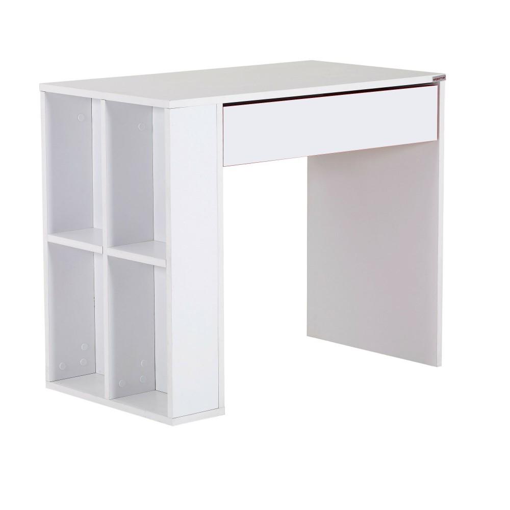 Birou Red Alpino cu sertar culoare alb dimensiuni 90x50cm h 76.1cm