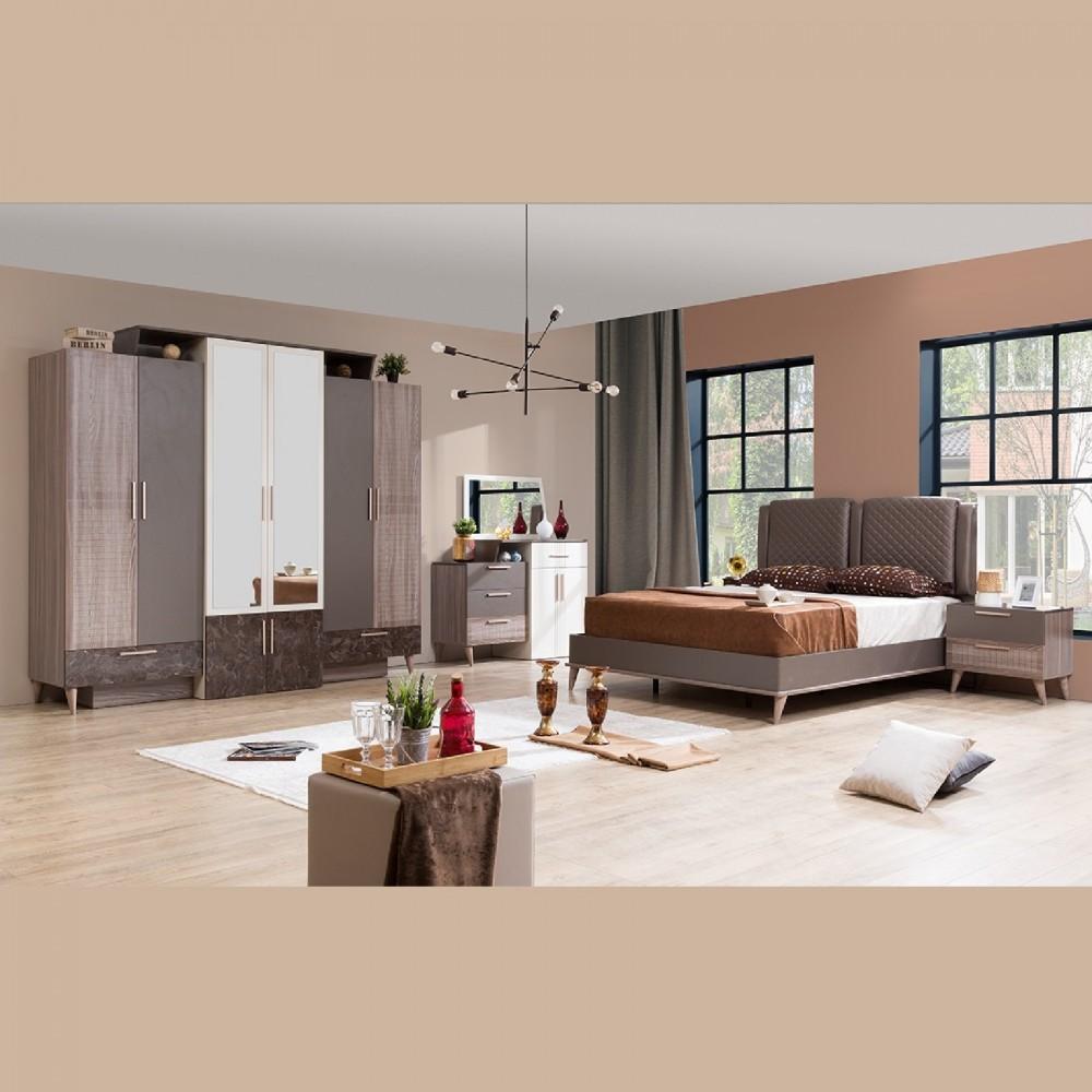 Set dormitor Alpino Safran  5 corpuri