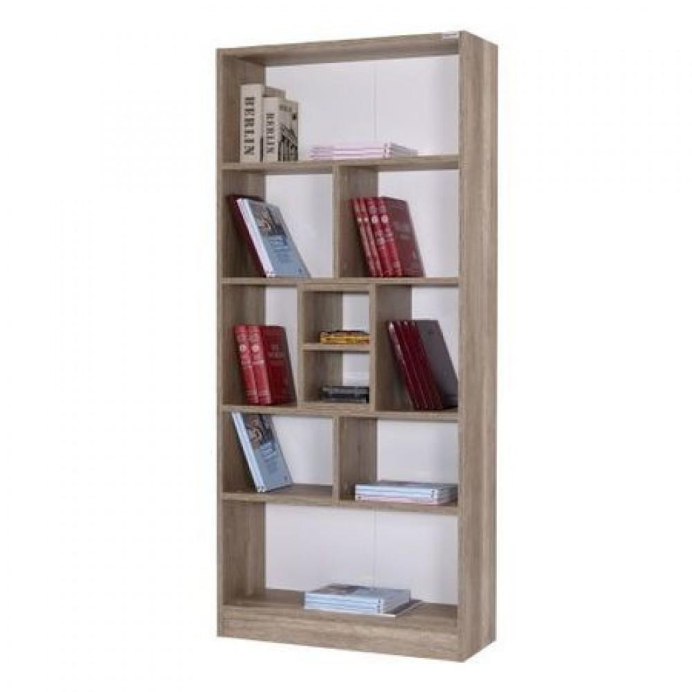 Biblioteca Bulut Alpino, 1805 mm x 800 mm x 300 mm, Stejar