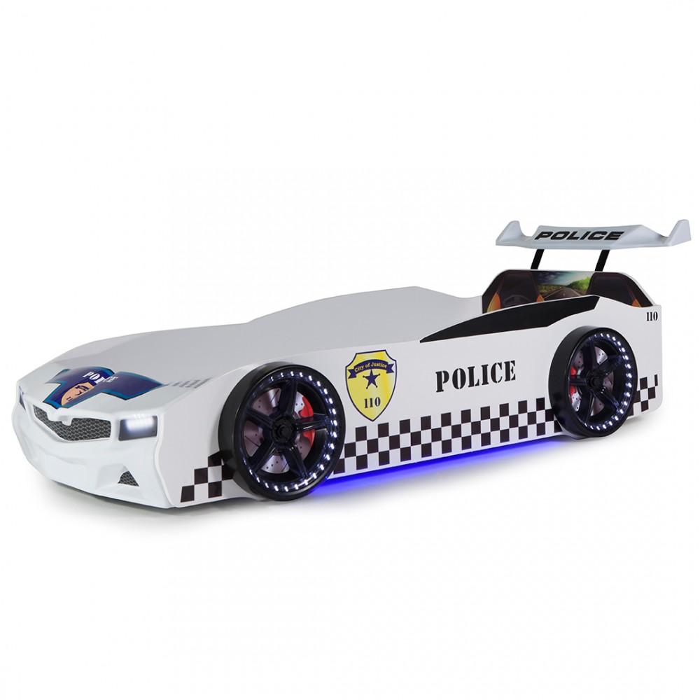 Pat copii Masina de politie SPX