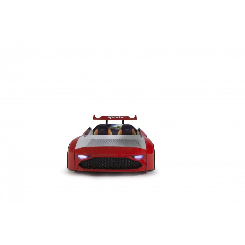 Pat copii Masina Aston rosu