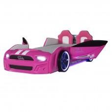 Pat copii Masina Mustang roz
