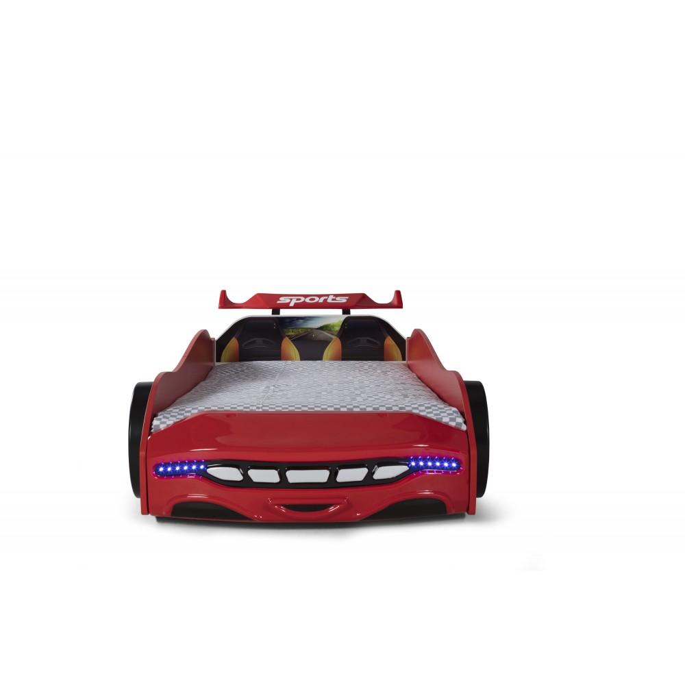 Pat copii Masina Sport rosie