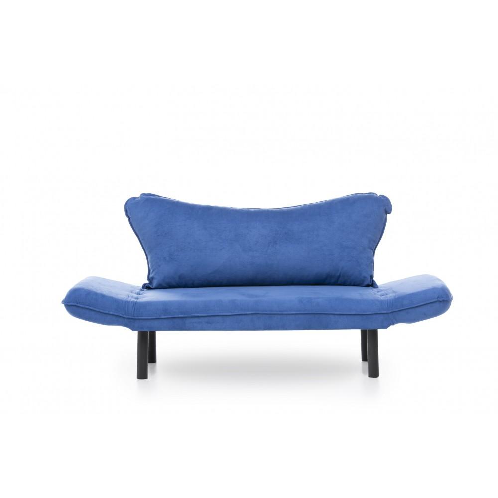 Canapea Chatto Albastra cu 2 locuri