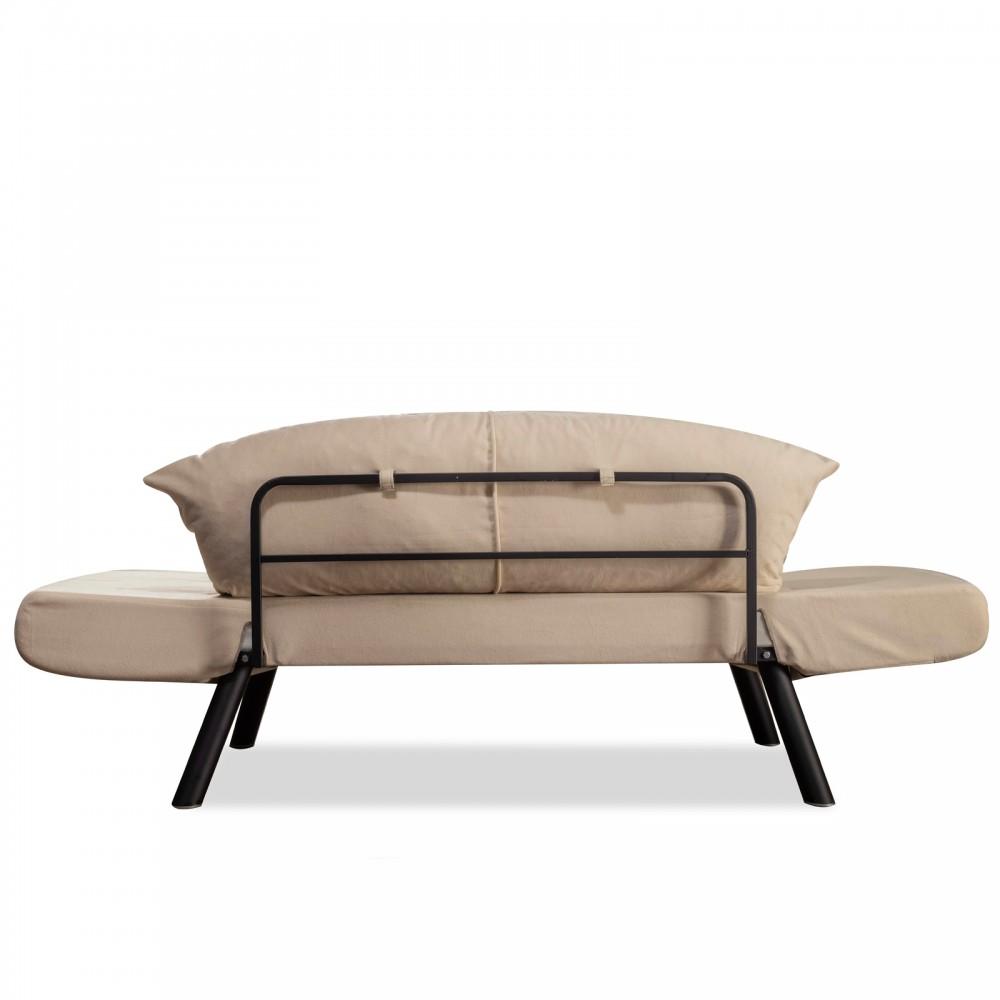 Canapea Genzo Bej cu 2 locuri