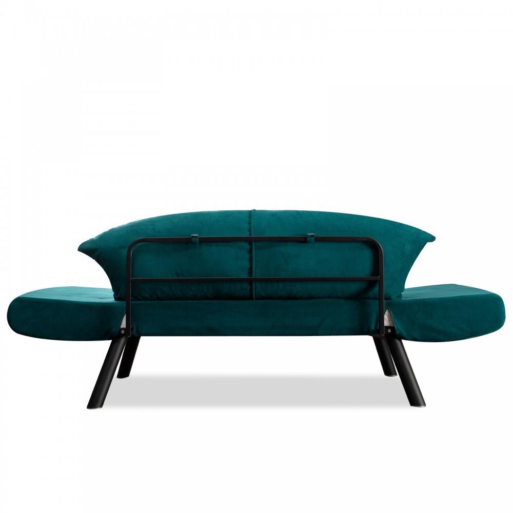 Canapea Genzo Verde cu 2 locuri