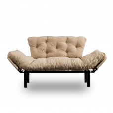Canapea Nitta Bej cu 2 locuri