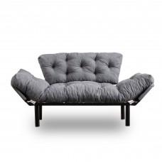 Canapea Nitta Gri cu 2 locuri
