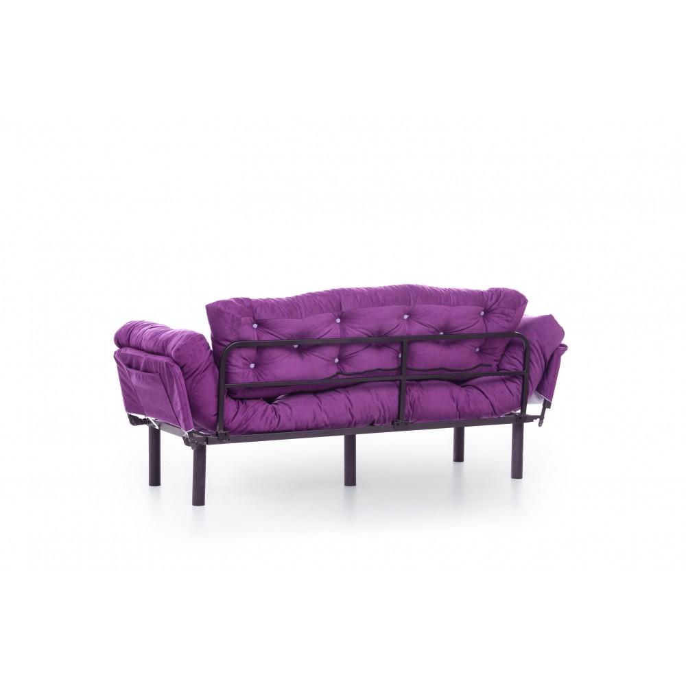 Canapea Nitta Mov cu 3 locuri