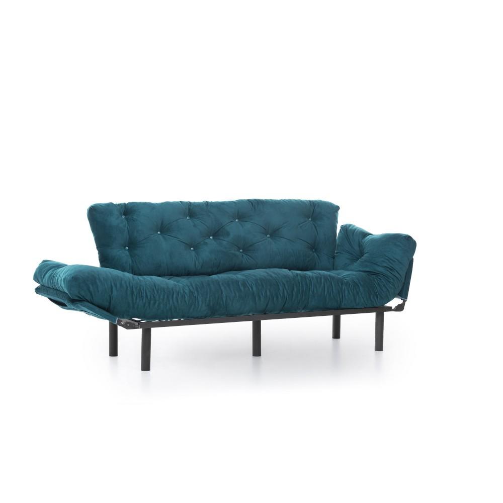 Canapea Nitta Verde cu 3 locuri