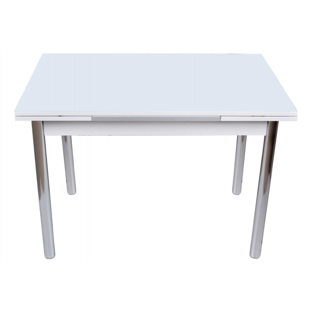Masa extensibila Duz Beyaz 110x70