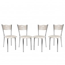 Set 4 scaune de bucatarie Eco Cordoba