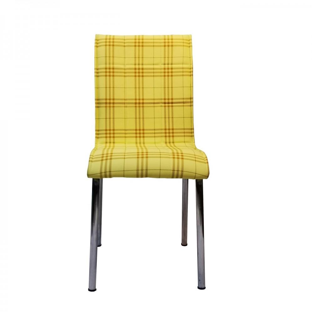 Set 4 scaune Pedli Ekose galbene