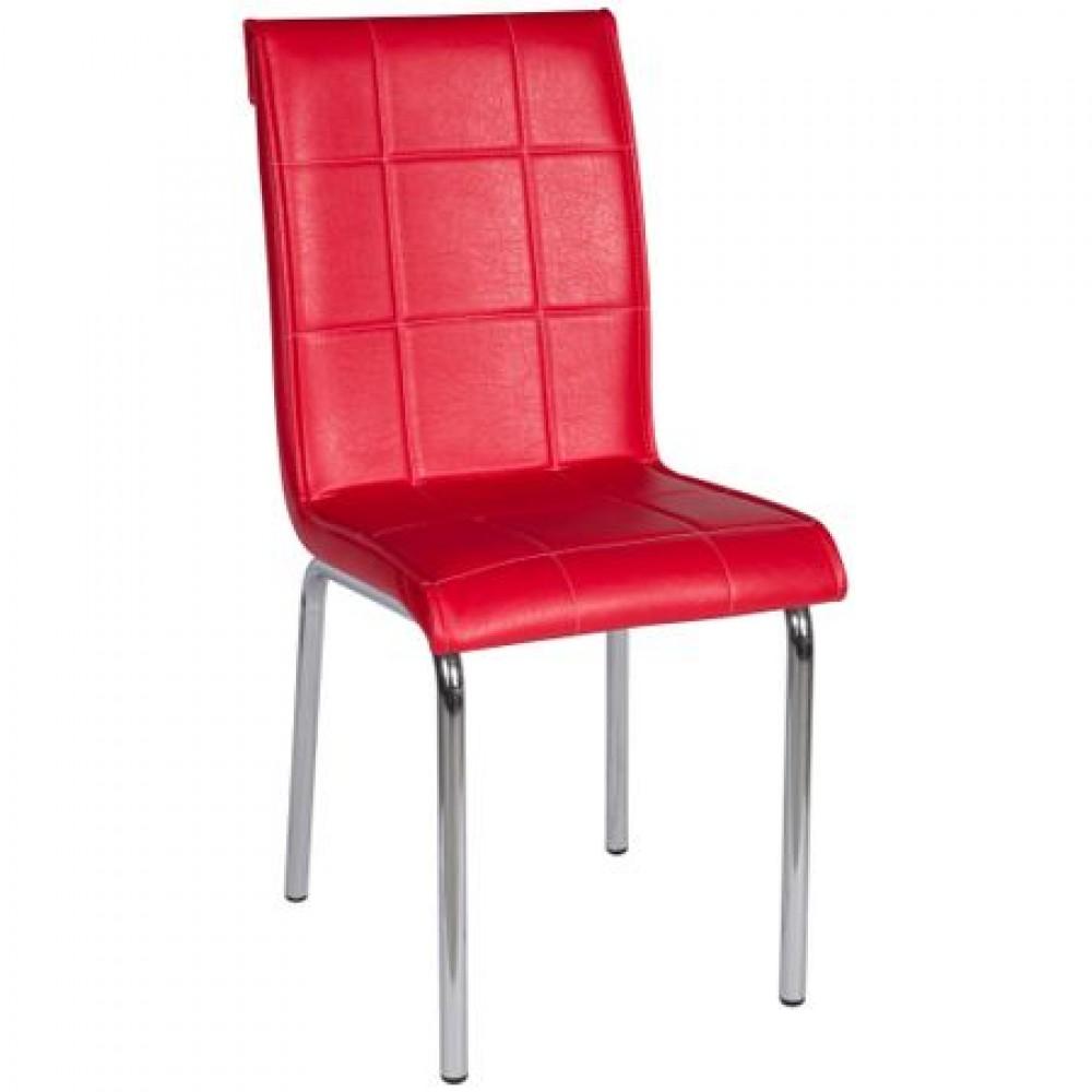 Set masa extensibila 110x70 Kirmizi Waves cu 4 scaune pedli rosu